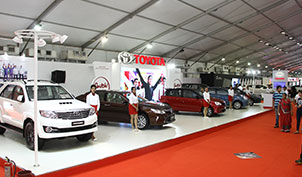 Toyota Stall and Bootcamp Autocar Performance Show 2015